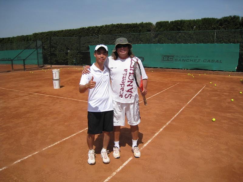 JC and Coach Daniel Sorribas