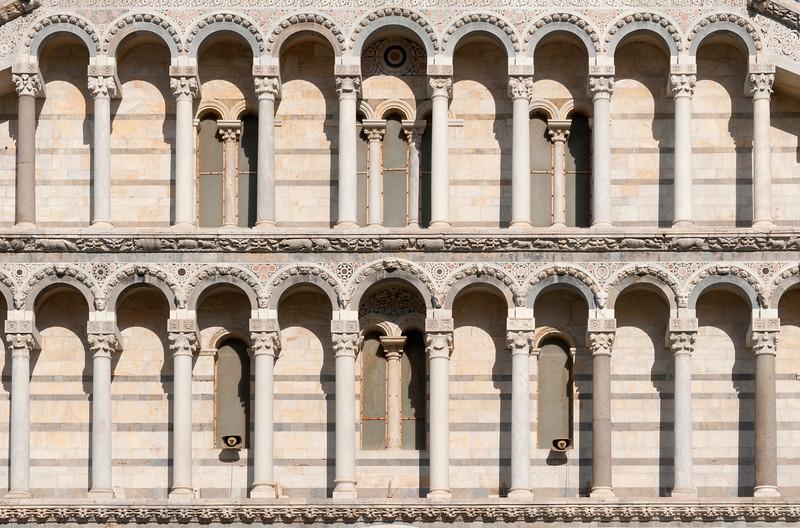 Facade Detail, Duomo, Pisa, Italy