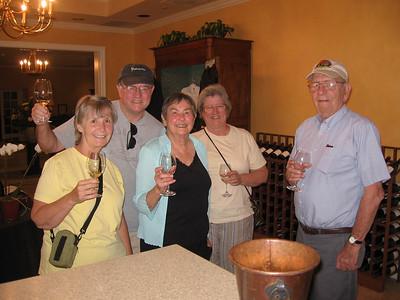 Bill, Doris & Michelle Visit