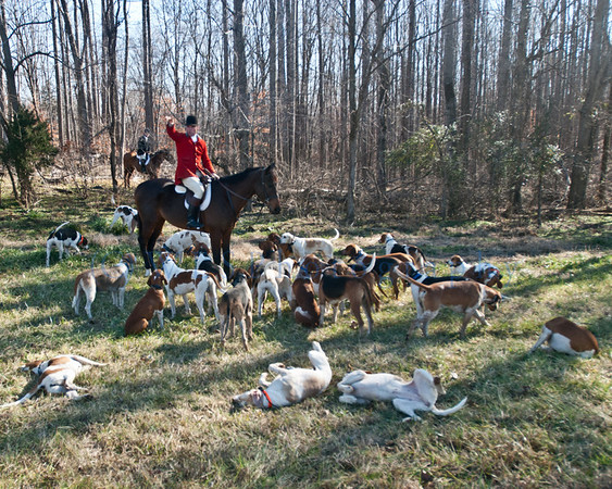 Deep Run Hunt Club Hunt 1-8-2012