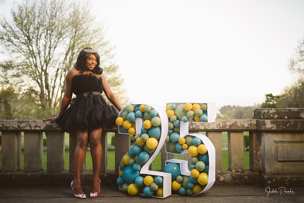 Bunmi @ 25 - Spring Inspired Birthday Shoot - Colwood Water Front & Hatley Castle | Victoria. BC