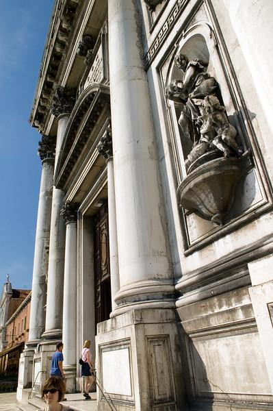 Gesuati (NOT Gesuiti) church, also called Santa Maria del Rosario, Dorsoduro quarter, Venice, Italy. A 18th baroque work by Massari.