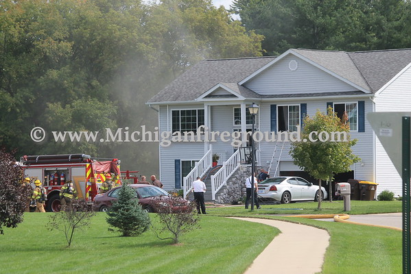 9/26/16 - Delhi Twp kitchen fire, 1526 Tagalak Trail
