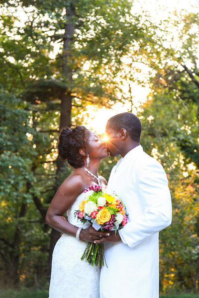 Josephine and Derrell Get Married