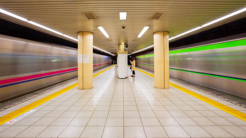 Tokyo Subway. Editorial credit: cowardlion / Shutterstock.com