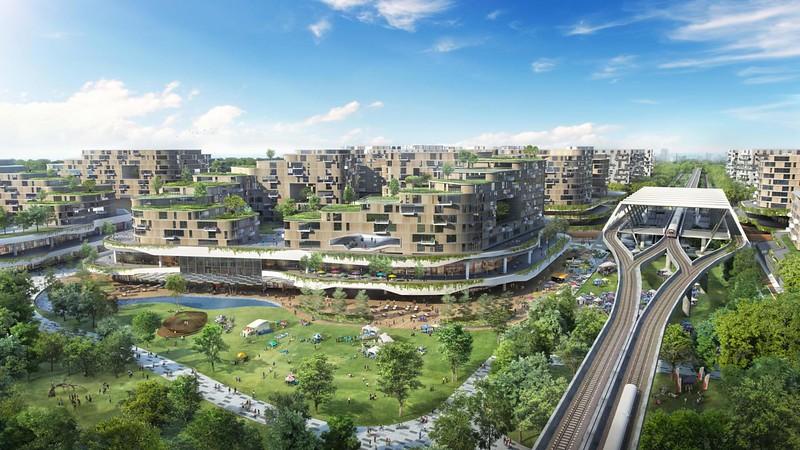 Singapore is building a 42,000-home eco 'smart' city