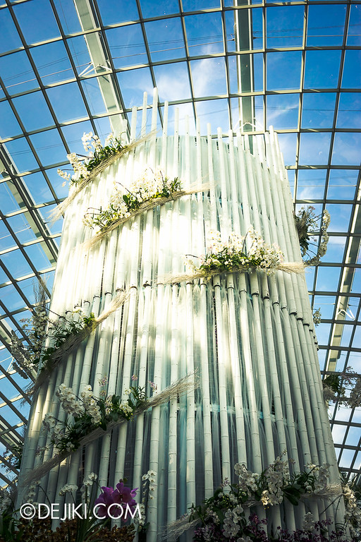 Gardens by the Bay - Orchid Extravaganza - The White Tower