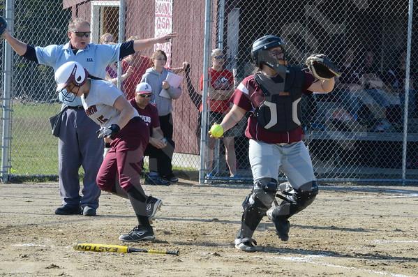 Softball: Ellsworth at GSA 5/16