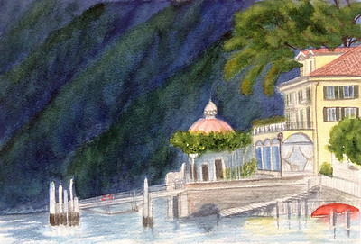 The Dock at Lake Como