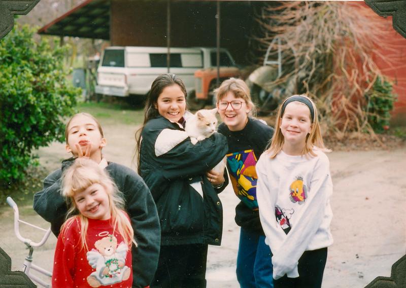 Elyse, Alianna, Alaya, Elizabeth, Emily
