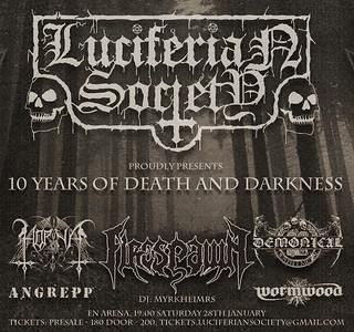 WORMWOOD (SWE)  - Luciferian Society 10 years