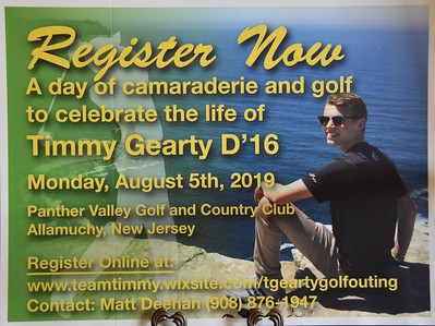 Timmy Gearty Golf Outing 2019