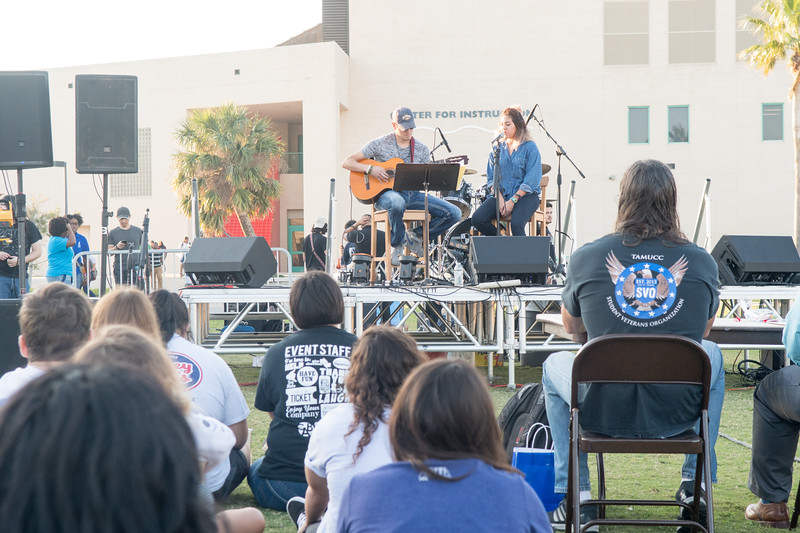 Bands far and near perform for Islanders during Campus Activities Board's Battle of the Bands.