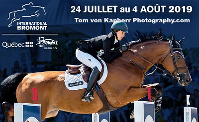 International Bromont July 24th- August 4th, 2019