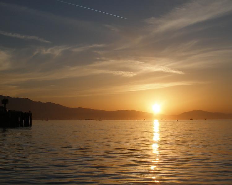 Santa Barbara CA, Harbor Sunrise