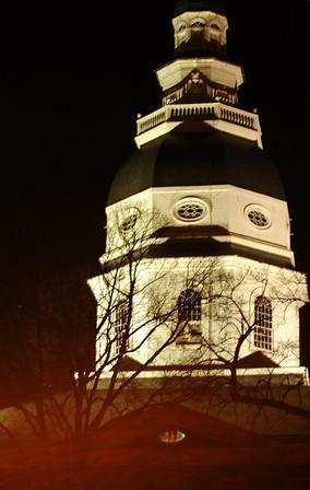 2011 Annapolis At Night