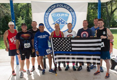 C.O.P.S. Blue Ribbon 5K Run/Walk 2017