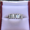 2.35ctw 7-Stone Step Cut Diamond Band 26