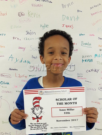 Scholar of the Month- November