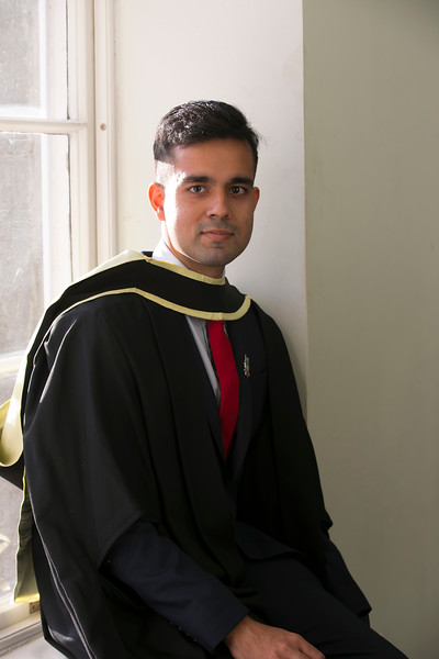 01/11/2018. Waterford Institute of Technology (WIT) Conferring Ceremonies 2018. Pictured is Lakshya Sharma India. Picture: Patrick Browne