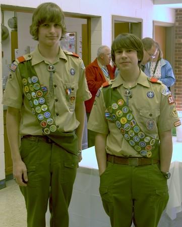 Drew's Egale Ceremony