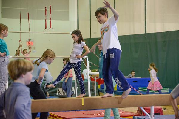 Gymnastics March 1, 2016