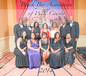 Black Bar Association of Will County's Barrister's Ball 2014