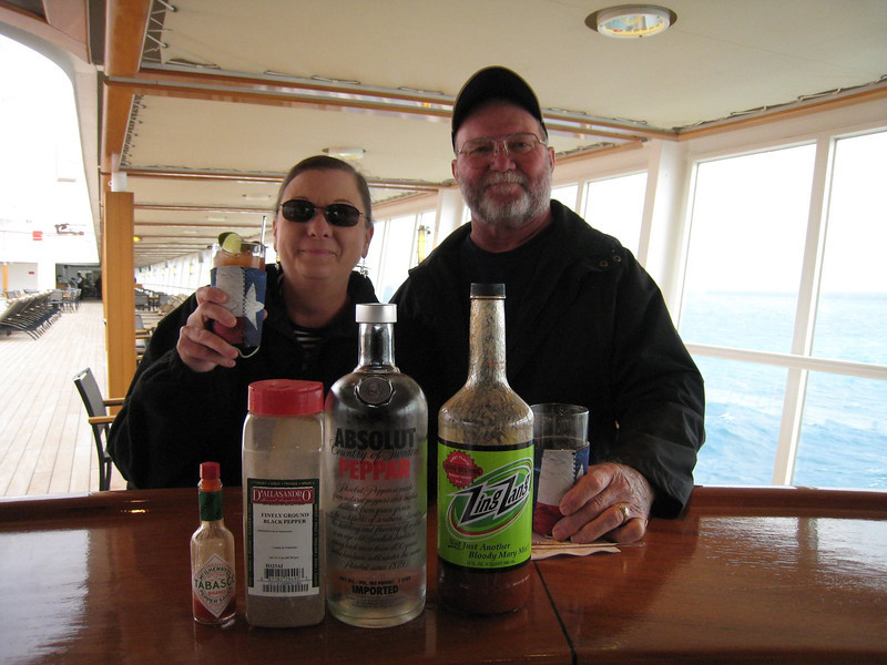 We were happy campers!  They had our Zang Zang and Peppar Vodka
