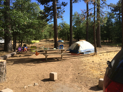 Burnt Rancheria Camping