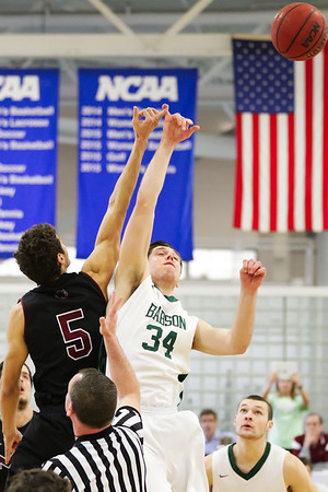 MIT-Babson Men's Basketball Feb. 28, 2016