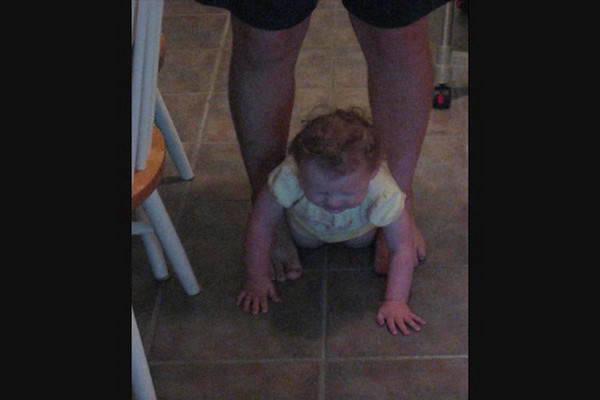 Emily First Crawling.wmv