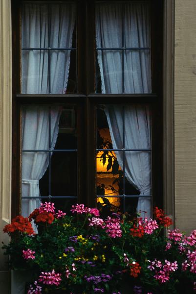 Rothenburg Pension's Window
