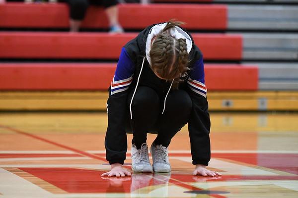Dance Team - Elkhorn Districts Basketball game
