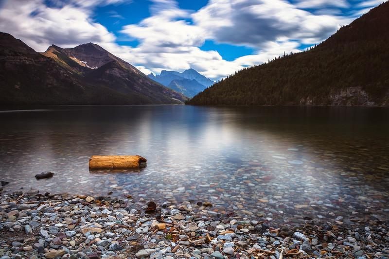 Waterton Lake, Waterton Lakes National Park. Alberta, Canada.