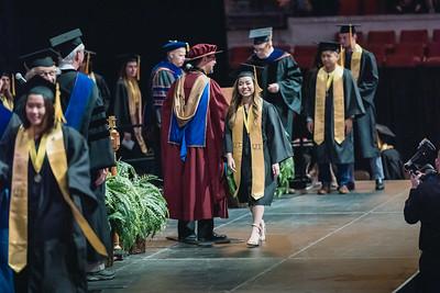 Alexis UT Austin Graduation Ceremony