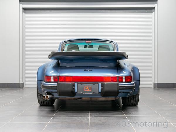 '89 911 Turbo - Baltic Blue