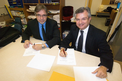 Community Life - Arista Contract Signing - February 24, 2013