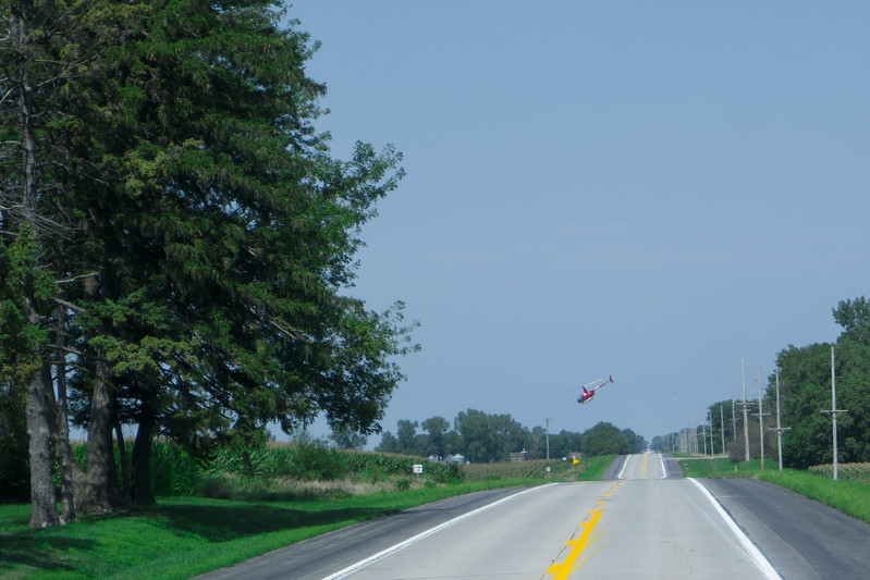 Helicopter Aerial Spraying