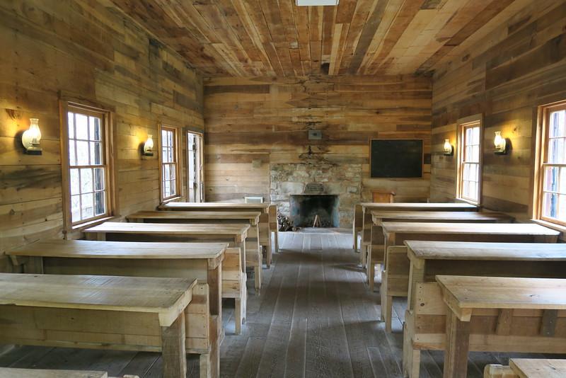 Biltmore Campus Trail -- Schoolhouse (interior)