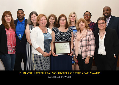 2018 Volunteer Recognition Tea