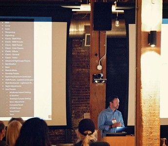 Presentations to Camera Clubs