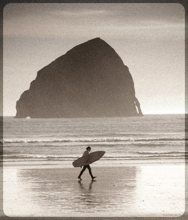 Pacific City Oregon / Haystack rock