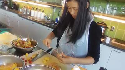 Victoria's Kitchen Visits