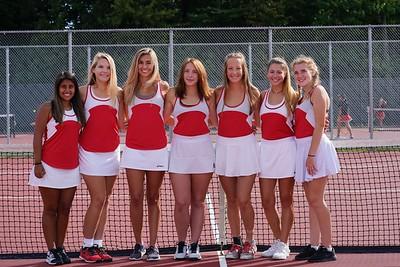 Lady Grizzlies Tennis '19