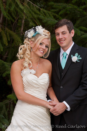 Narci & Curtis at Red Tail Farm 9-8-2012