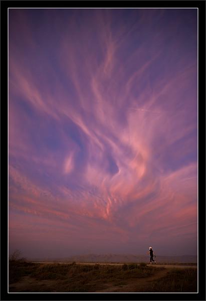 Sunset Cirrus Clouds