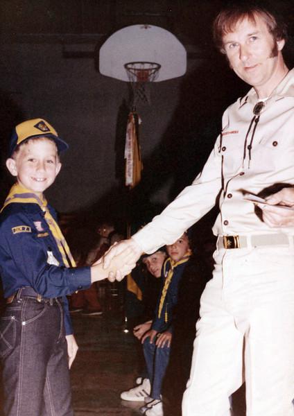 Scott in Boy Scout