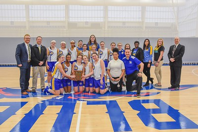 Girls Bball District Champs 2019