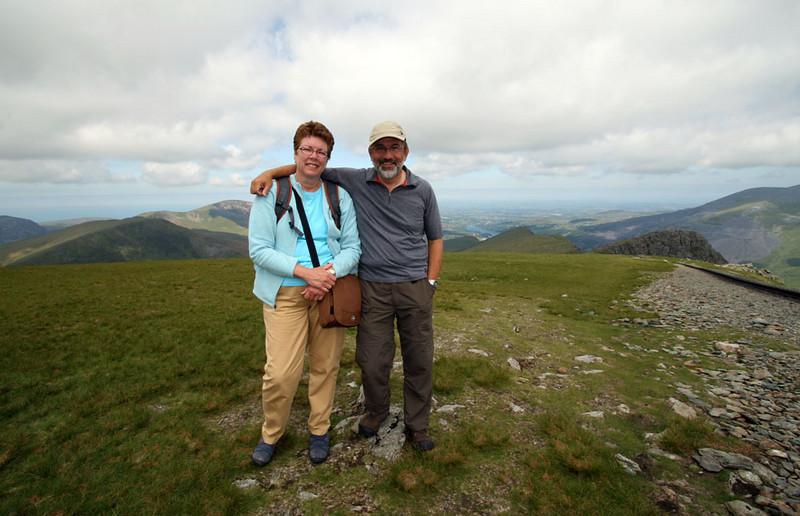 On Mt. Snowden.
