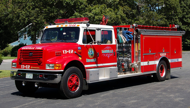 Engine 2 1993 International / 3D 1250 / 1000